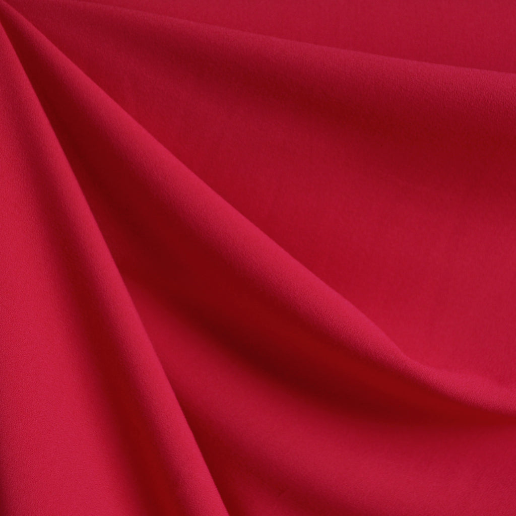 Rayon Crepe Solid Red SY - Sold Out - Style Maker Fabrics