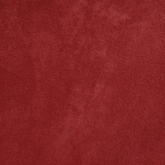 Luxury Faux Suede Red - Fabric - Style Maker Fabrics