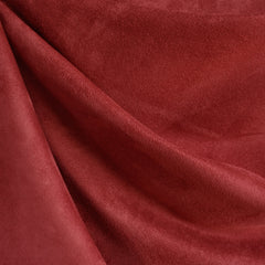 Luxury Faux Suede Red - Sold Out - Style Maker Fabrics