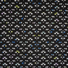 Confetti Ponte Knit Black/Multi SY - Sold Out - Style Maker Fabrics