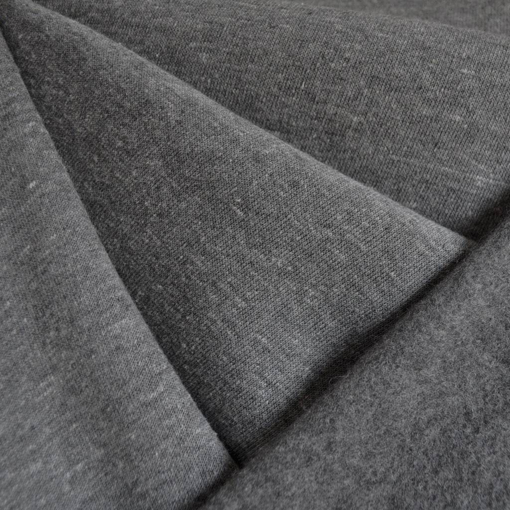 Sweatshirt Fleece Heather Grey - Fabric - Style Maker Fabrics