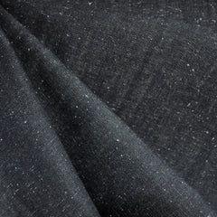 Speckled Denim Solid Black - Fabric - Style Maker Fabrics