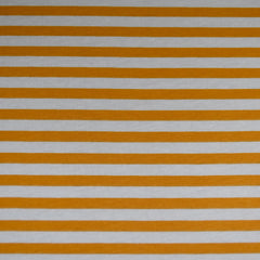 Blake Stripe Jersey Knit Mustard/Smoke SY - Sold Out - Style Maker Fabrics