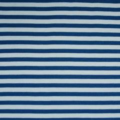 Blake Stripe Jersey Knit Navy/Blue - Fabric - Style Maker Fabrics