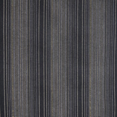 Shimmer Yarn Dyed Stripe Shirting Charcoal/Gold SY - Sold Out - Style Maker Fabrics