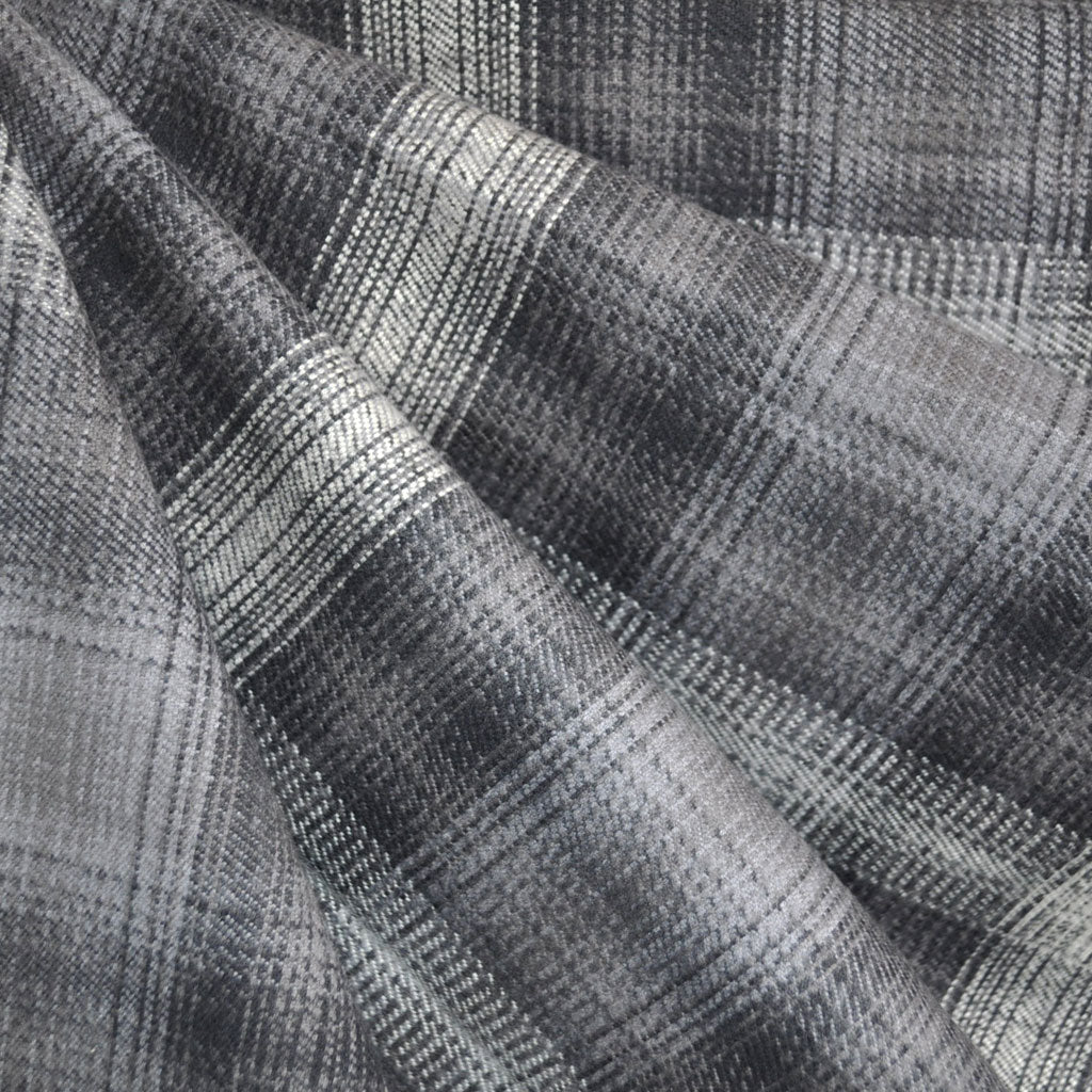 Durango Flannel Plaid Graphite - Sold Out - Style Maker Fabrics
