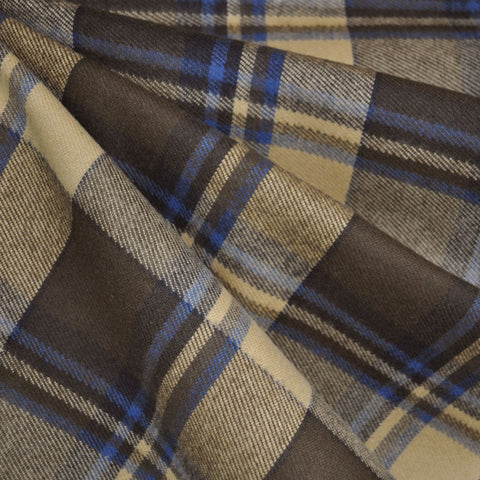 Heavy Duty Durango Flannel Plaid Olive/Tan