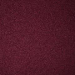 Boiled Wool Blend Coating Wine SY - Selvage Yard - Style Maker Fabrics