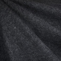 Boiled Wool Blend Coating Charcoal - Fabric - Style Maker Fabrics