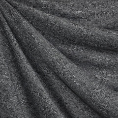 Textured Sweater Knit Charcoal - Fabric - Style Maker Fabrics