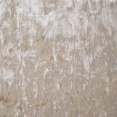Stretch Panne Velvet Solid Latte - Fabric - Style Maker Fabrics