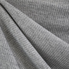 Plush Thermal Sweater Knit Light Grey - Sold Out - Style Maker Fabrics