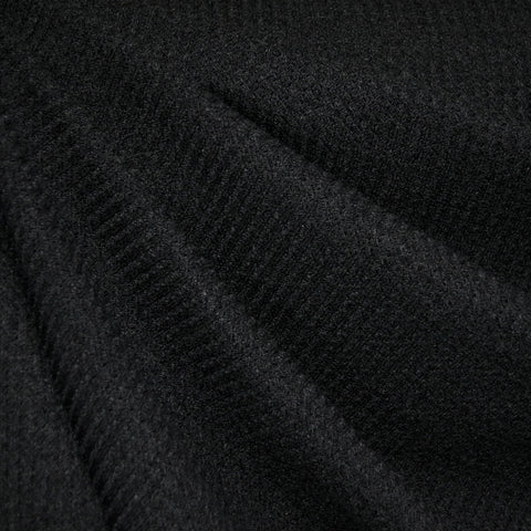 Plush Thermal Sweater Knit Black