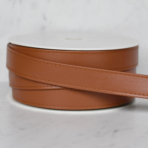 Faux Leather Strapping 1 inch