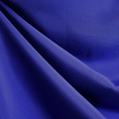 Rayon Crepe Solid Sapphire