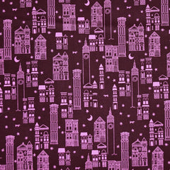 Metropolis Cotton Lawn Wine SY - Sold Out - Style Maker Fabrics