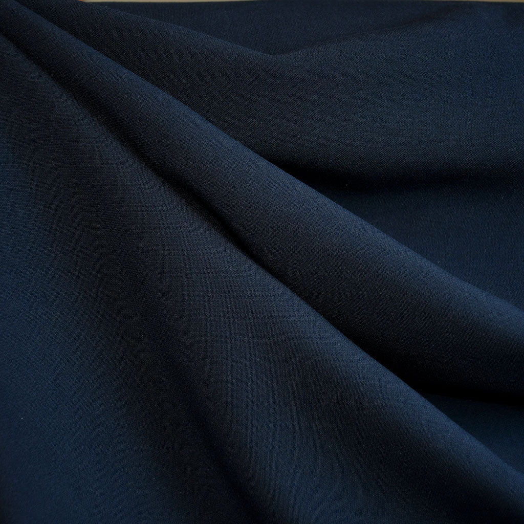 Stretch Double Twill Suiting Navy - Sold Out - Style Maker Fabrics