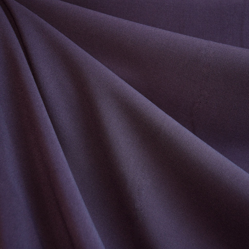 Stretch Double Twill Suiting Plum - Sold Out - Style Maker Fabrics