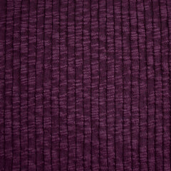 Chunky Ribbed Sweater Knit Aubergine SY - Sold Out - Style Maker Fabrics
