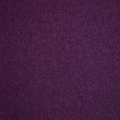 Boiled Wool Blend Coating Aubergine - Sold Out - Style Maker Fabrics