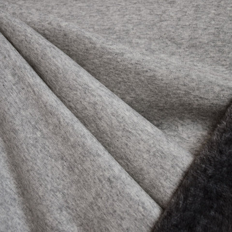 Sherpa Sweatshirt Fleece Heather Grey/Charcoal