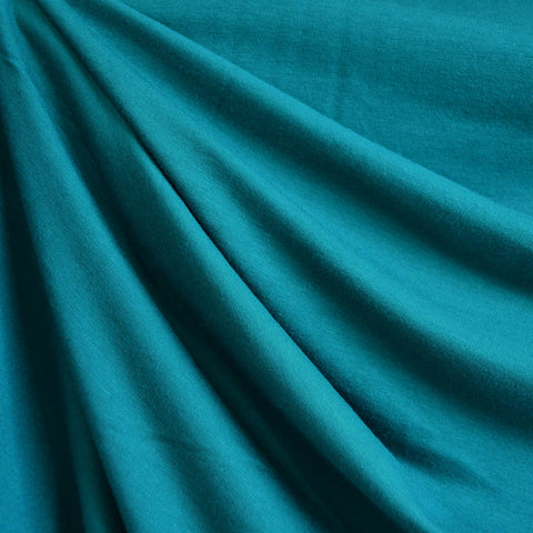 Bamboo Jersey French Terry Teal SY