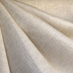 Herringbone Stretch Linen Suiting Natural - Sold Out - Style Maker Fabrics