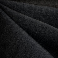 Calendered Cotton Denim Black - Fabric - Style Maker Fabrics