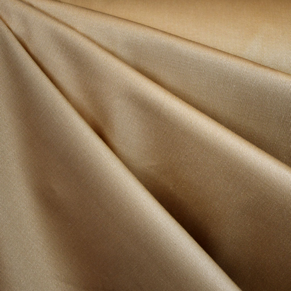 Cotton Twill Solid Honey - Fabric - Style Maker Fabrics