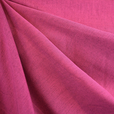 Soft Tencel Twill Solid Fuchsia