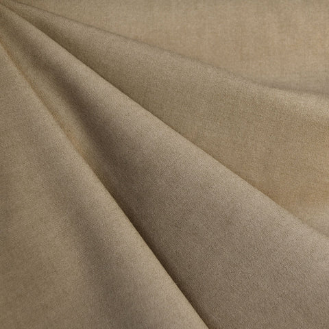 Designer Stretch Double Twill Suiting Taupe