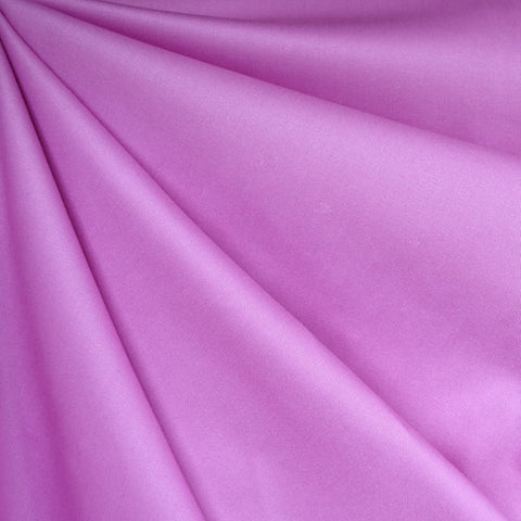 Stretch Cotton Twill Solid Orchid