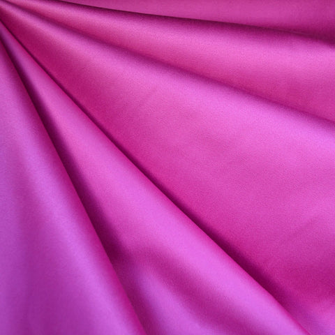 Stretch Sateen Solid Pink