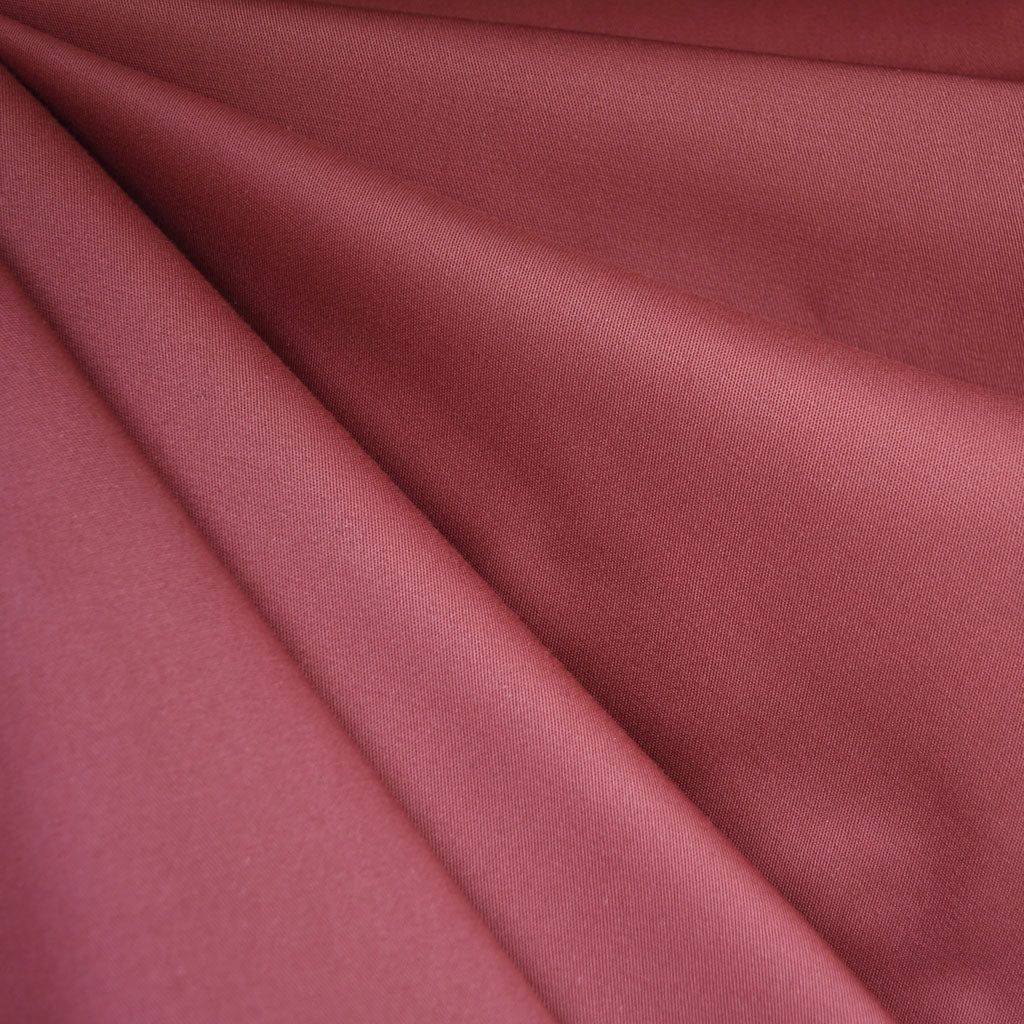 Stretch Sateen Solid Brick SY - Sold Out - Style Maker Fabrics