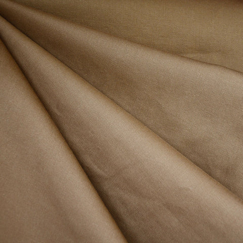 Cotton Twill Solid Chestnut