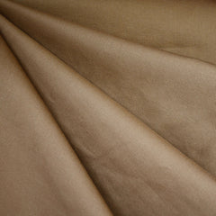 Cotton Twill Solid Chestnut - Sold Out - Style Maker Fabrics