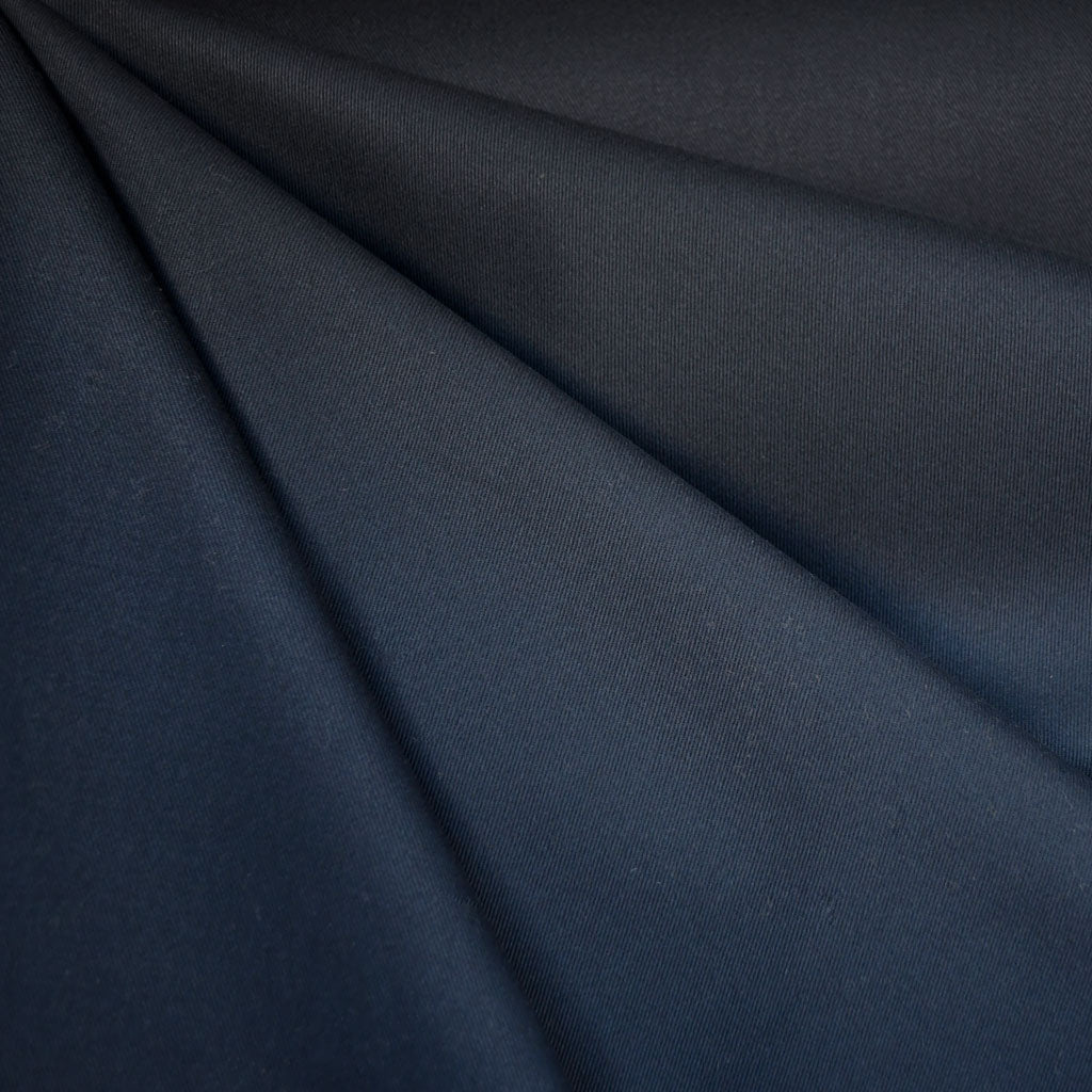 Cotton Twill Solid Navy - Sold Out - Style Maker Fabrics