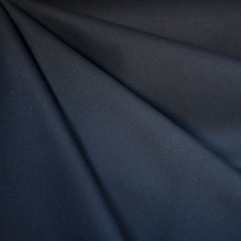 Cotton Twill Solid Navy