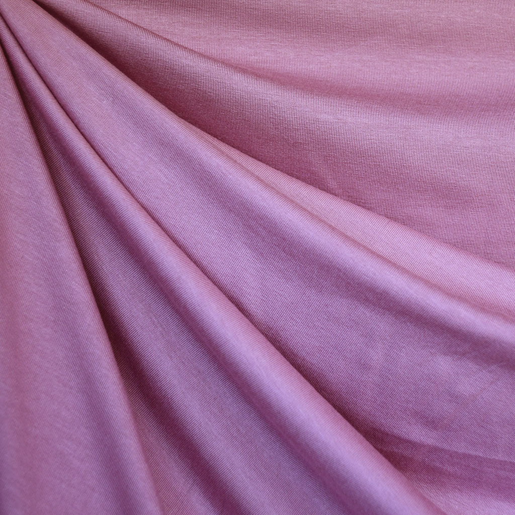 Suprema Cotton Jersey Knit Solid Lilac - Sold Out - Style Maker Fabrics