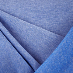 Sweatshirt Fleece Heather Sky Blue - Fabric - Style Maker Fabrics
