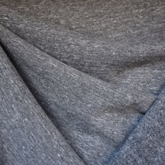 Modal Sweatshirt Fleece Medium Grey - Fabric - Style Maker Fabrics