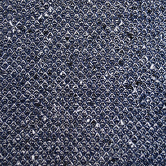 Speckle Double Sweater Knit Navy/Cream - Sold Out - Style Maker Fabrics