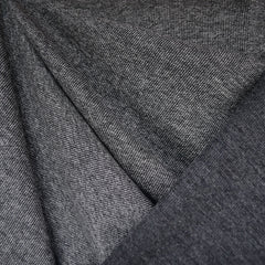 Reversible Micro Rib Double Knit Grey/Charcoal - Sold Out - Style Maker Fabrics