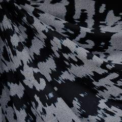 Abstract Athletic Jersey Knit Grey/Black - Fabric - Style Maker Fabrics