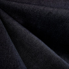 Mid Weight Stretch Denim Solid Indigo - Sold Out - Style Maker Fabrics