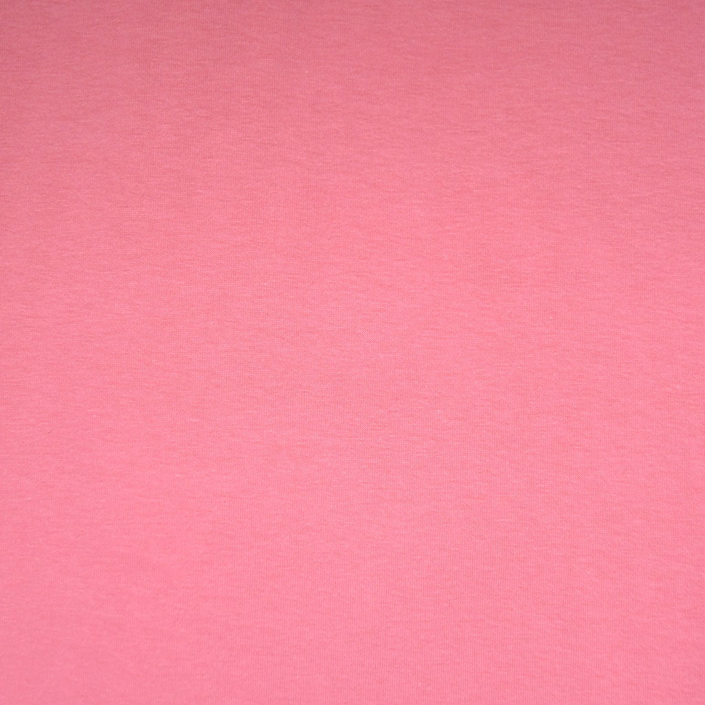 66e1941e8151ee ... Designer Cotton Jersey Knit Solid Flamingo - Sold Out - Style Maker  Fabrics