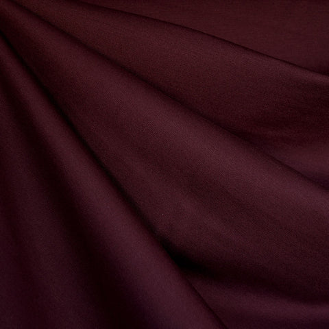 Classic Ponte Knit Solid Deep Wine