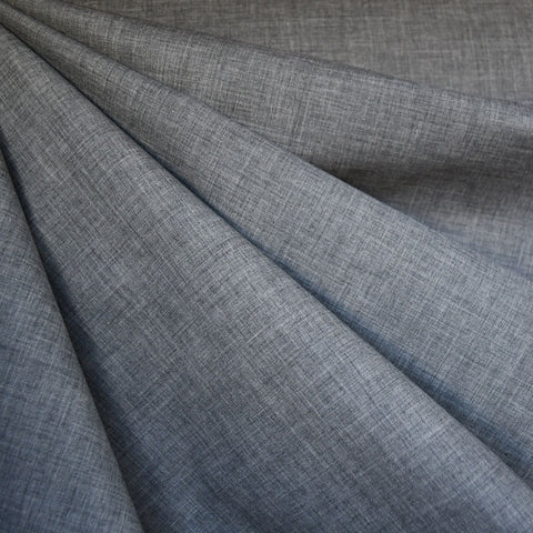Yarn Dyed Melange Cotton Shirting Grey
