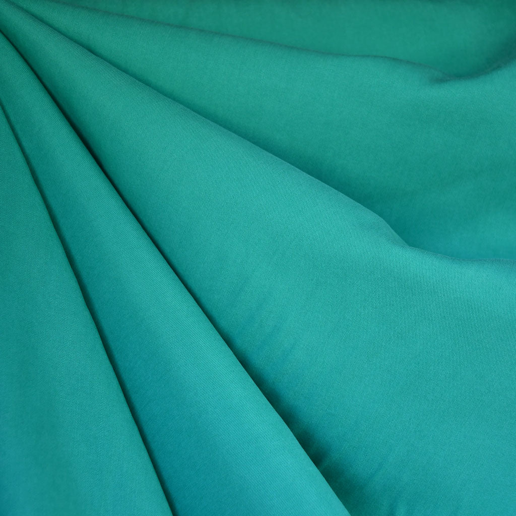 Tencel Twill Shirting Solid Jade - Fabric - Style Maker Fabrics