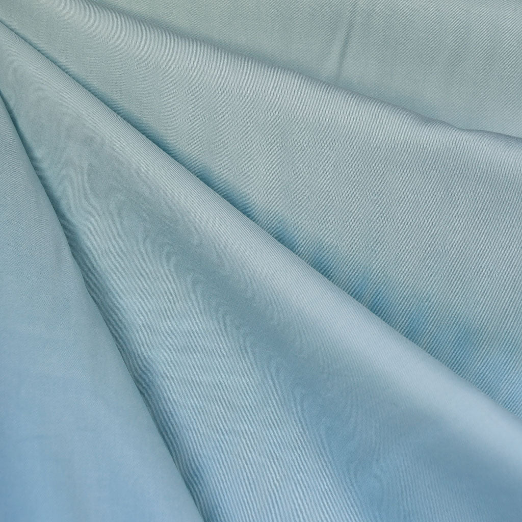 Tencel Twill Shirting Solid Sky - Fabric - Style Maker Fabrics
